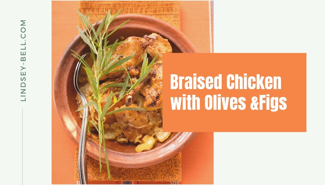 Braised Chicken with Olives and Figs