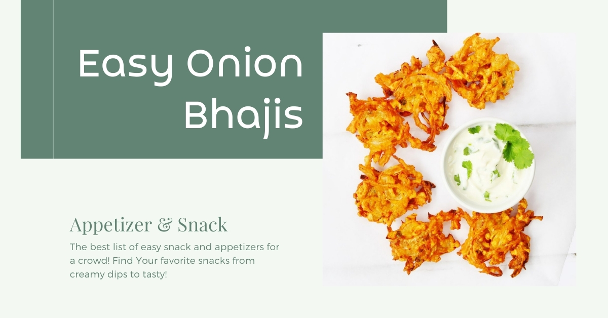 Easy Onion Bhajis Recipe