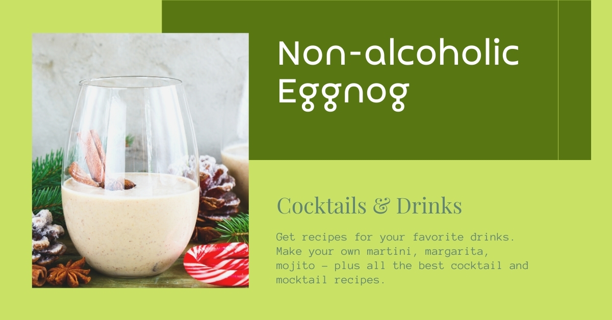 Non-alcoholic Eggnog recipe