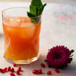 Pear and Rose Mocktail