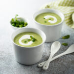 Herby Broccoli & Pea Soup