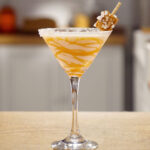 Caramel Martini Cocktail