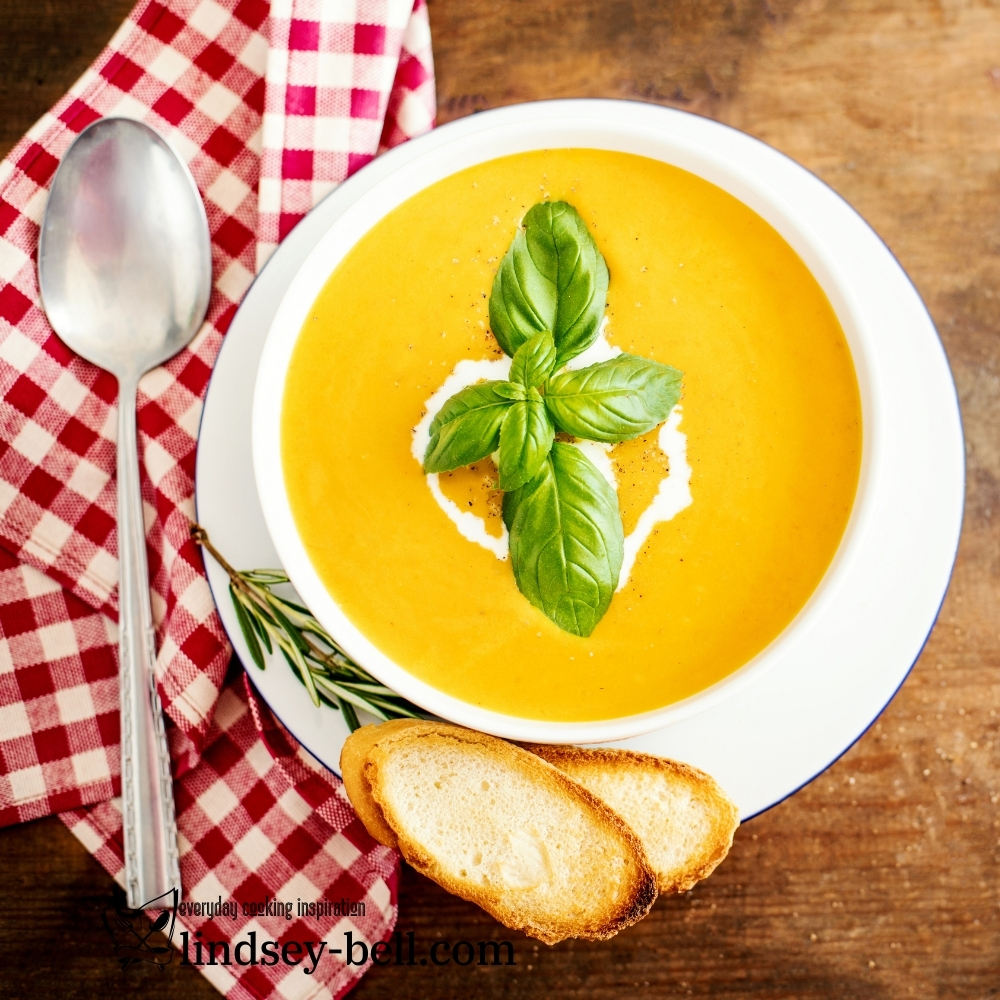 Butternut Squash and Green Curry Soup