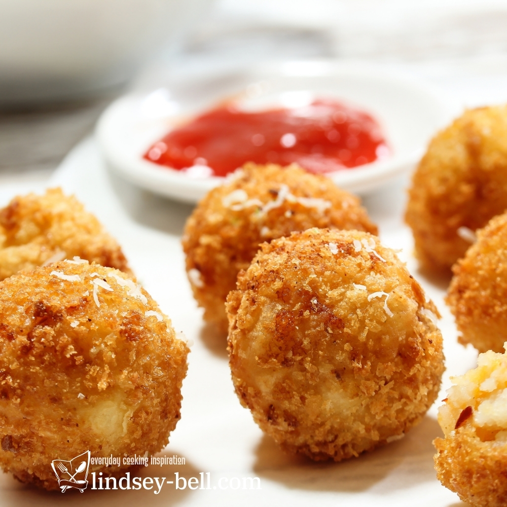 Spicy Sweet Potato and Cheddar Croquettes
