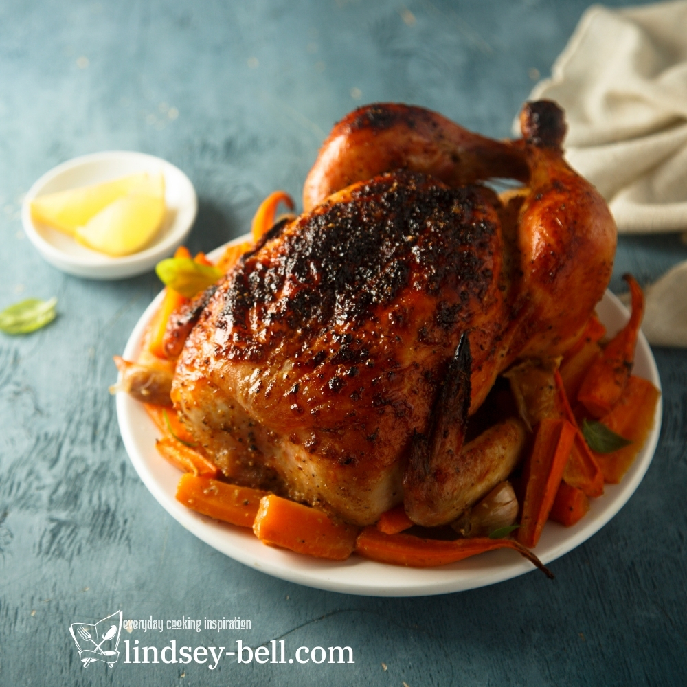 Sweet and Spicy Roast Chicken