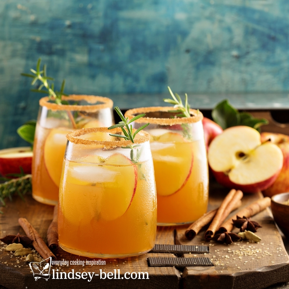 Tangy Cider Fizz Cocktail